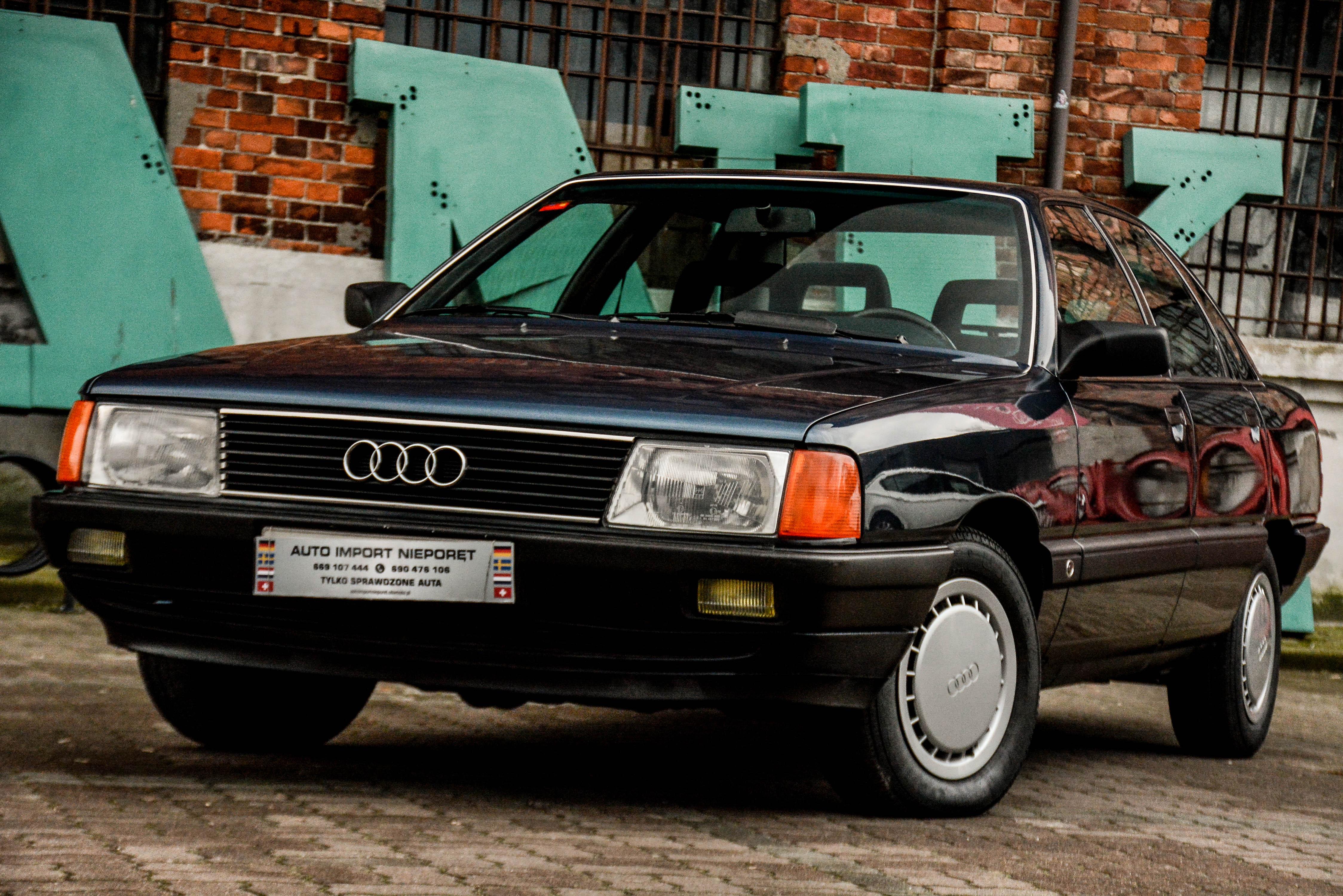 Audi 100 – aerodynamiczne cygaro
