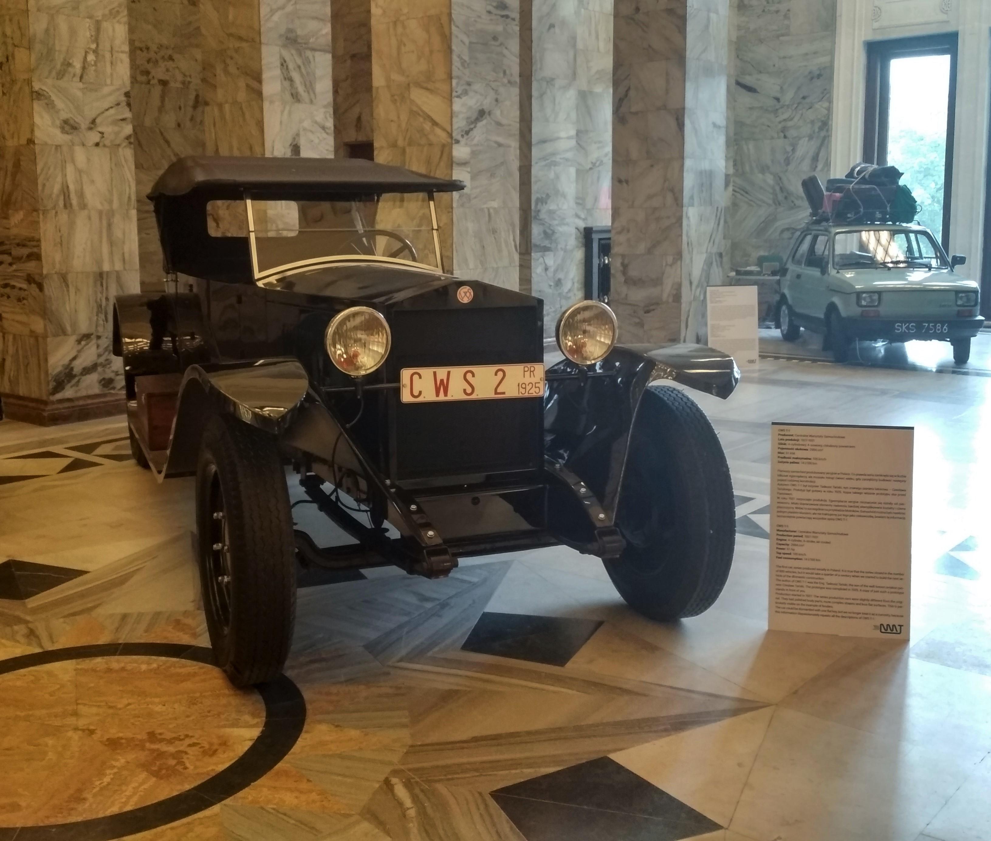 Perły motoryzacji. Wystawa w Pałacu Kultury i Nauki