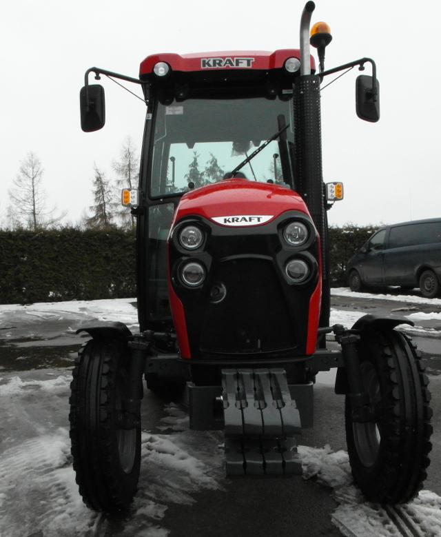Kraft 2017C2 – Nowy traktor z Mazowsza